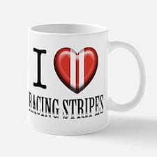 Cute Racing stripes Mug