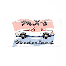 Unique Mx 5 Aluminum License Plate