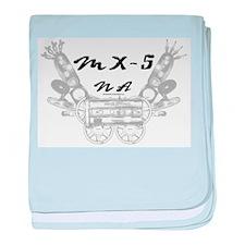 MX-5 na baby blanket