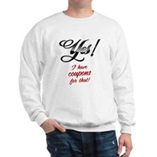 Couponing Sweatshirt
