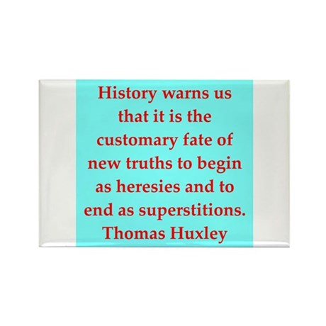 Thomas Huxley quotes Rectangle Magnet (10 pack)