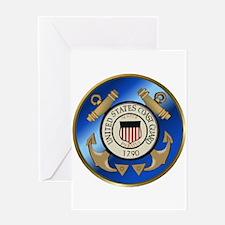 Vintage Coast Guard Greeting Card