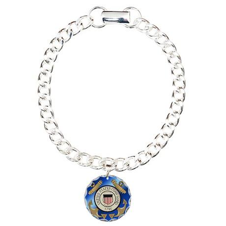 Vintage Coast Guard Charm Bracelet, One Charm