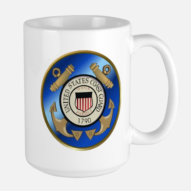 Vintage Coast Guard Large Mug