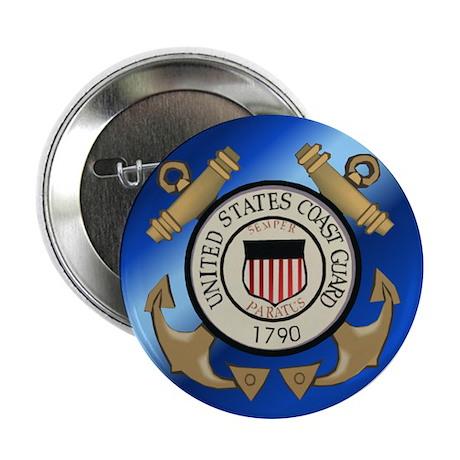 """Vintage Coast Guard 2.25"""" Button (10 pack)"""