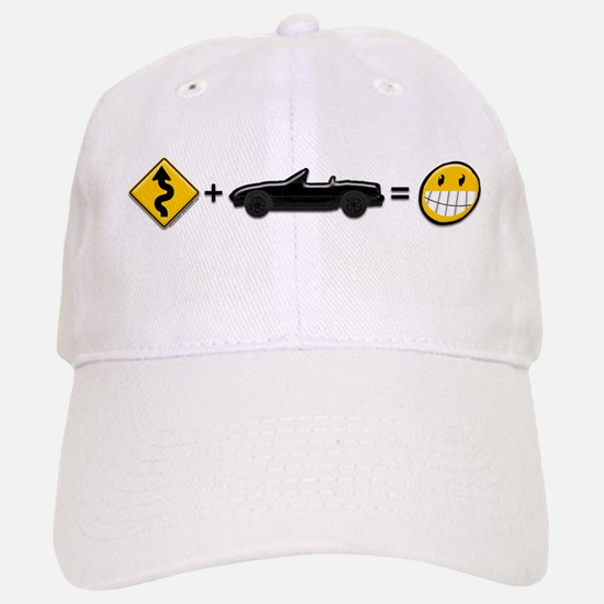 Curves + MX-5 = Fun Baseball Baseball Cap