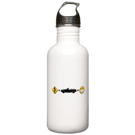 Curves + MX-5 = Fun Stainless Water Bottle 1.0L