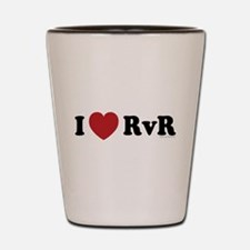 I Love RvR Shot Glass