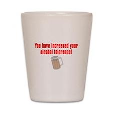 Alcohol Tolerance Shot Glass