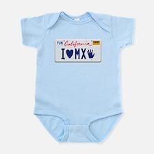 Cute California license Infant Bodysuit