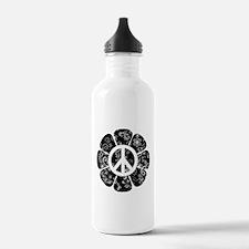 Peace Flower Water Bottle
