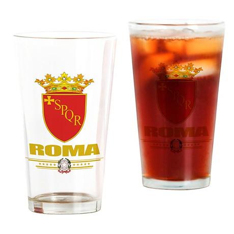 Roma COA Drinking Glass