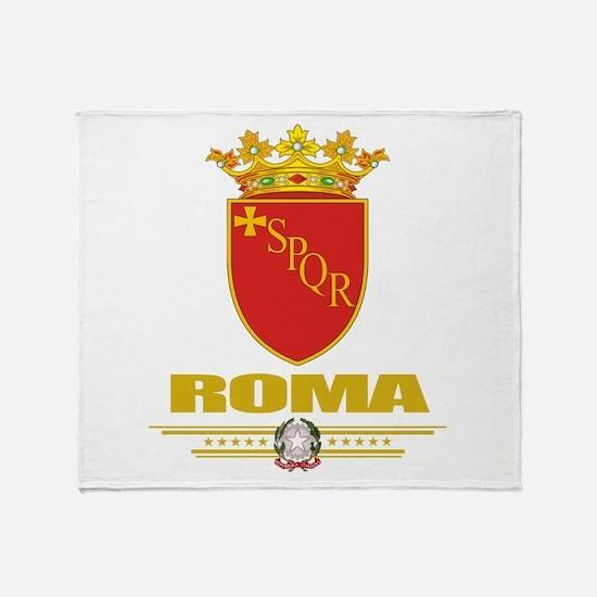 Roma COA Throw Blanket
