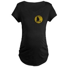 Tonkin Gulf Yacht Club Maternity T-Shirt (Dark)