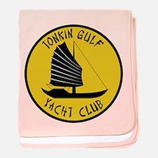 Tonkin Gulf Yacht Club baby blanket