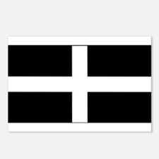 Cornish flag Postcards (Package of 8)