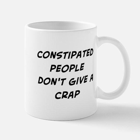 constipated people Mug
