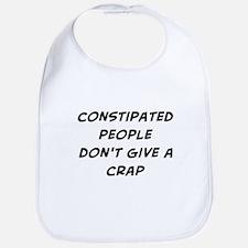 constipated people Bib