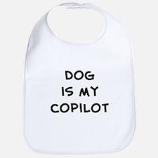 dog is my copilot Bib