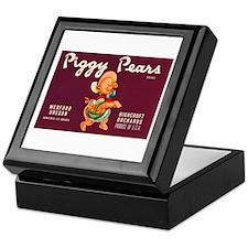 Piggy Pears Keepsake Box