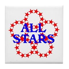 ALL STARS Tile Coaster