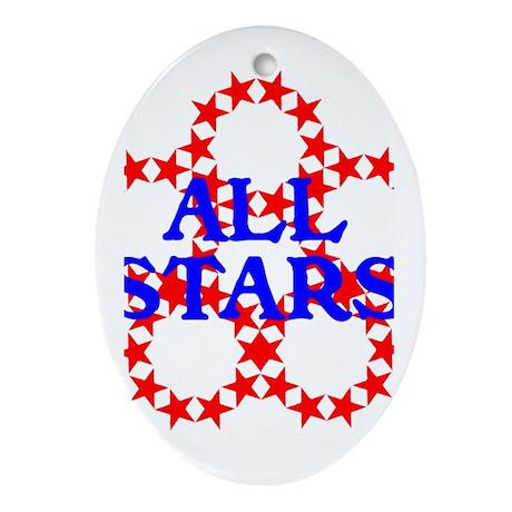 ALL STARS Ornament (Oval)