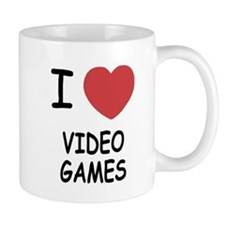 I heart video games Mug