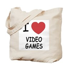 I heart video games Tote Bag