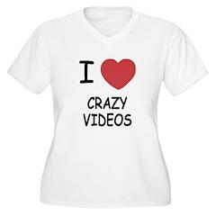 I heart crazy videos T-Shirt