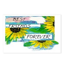 Best Friends Forever Postcards (Package of 8)