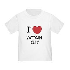 I heart vatican city T