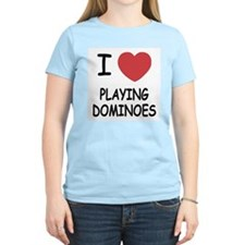 I heart playing dominoes T-Shirt