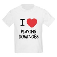 I heart playing dominoes T-Shirt
