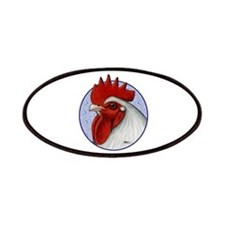 Orpington Rooster Circle Patches