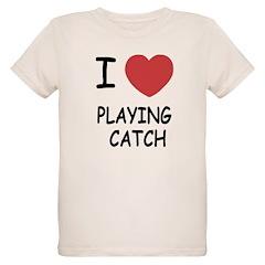 I heart playing catch T-Shirt