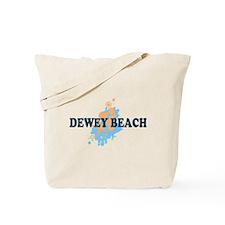 Dewey Beach DE - Seashells Design Tote Bag