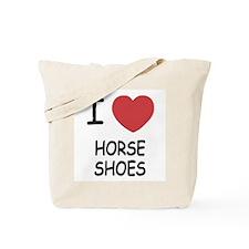 I heart horse shoes Tote Bag