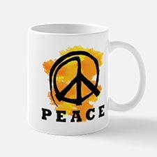 Peace Orange Mug