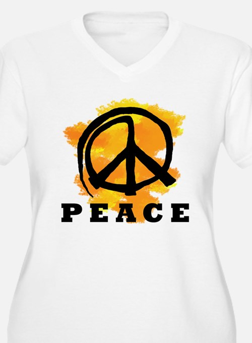 Peace Orange T-Shirt