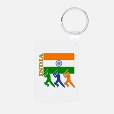 India Cricket Keychains