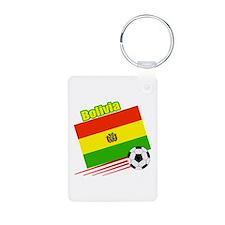 Bolivia Soccer Team Keychains
