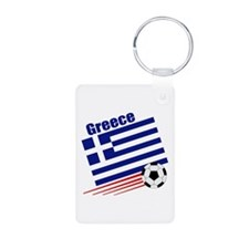 Greece Soccer Team Keychains