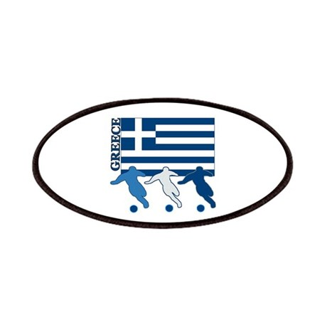 Soccer Greece Patches
