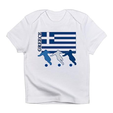 Soccer Greece Infant T-Shirt