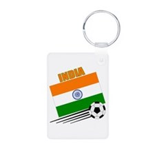 India Soccer Team Keychains