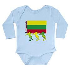 Lithuania Soccer Onesie Romper Suit