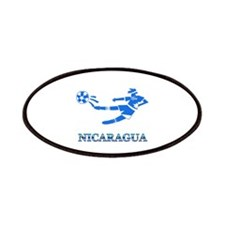 Nicaragua Soccer Player Patches