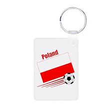 Poland Soccer Team Keychains