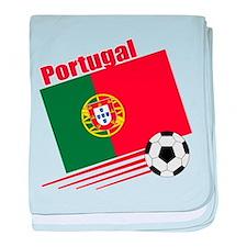 Portugal Soccer Team baby blanket