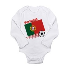 Portugal Soccer Team Long Sleeve Infant Bodysuit
